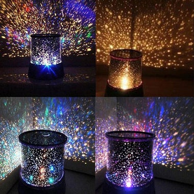 Pop Colorful Bedroom Cosmos Star Master Projector Starry Night Sky Light Lamp