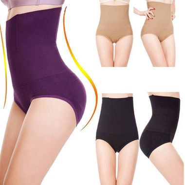 Shapewear Seamfree High Waist Slimming Control Briefs Tummy Tuck Bum Lift 3 Colo