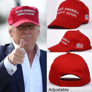 2017 Republican Make America Great Again Hat Donald Trump Red Cap