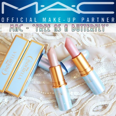 MAC Limited Edition Cinderella Collection Lipstick - Free As A Butterfly |  NO L