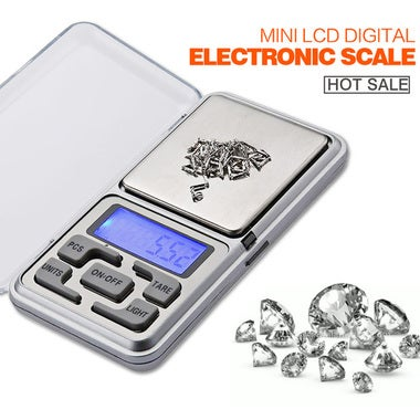 200g x 0.01g Mini Digital Scale LCD Electronic  Weight Weighing Pocket Scales