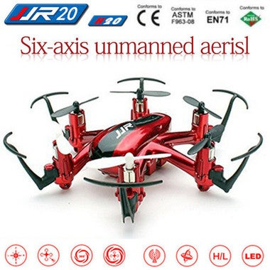 Portable H22 RC Quadcopter Drone 6 Axis RTF Remote Control Aircraft