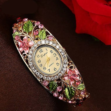 Flower watch Fashion Bracelet Watch