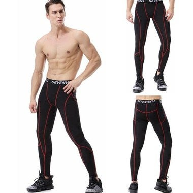 2018 New Fashion Mens Sports Fashion Quick Dry Fitness Running Pants