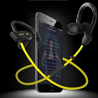 Bluetooth Wireless Mic Stereo Noise Cancelling Sports Running Exercise Wireless