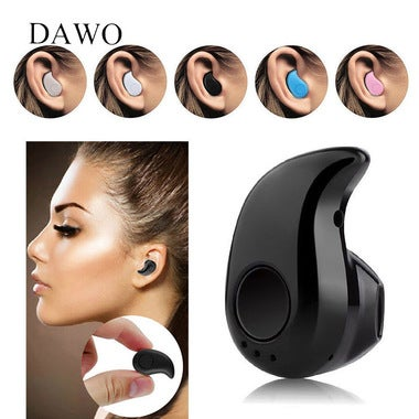 Mini Invisible Ultra Small Bluetooth 4.0 Stereo Earbud Headset With Microphone