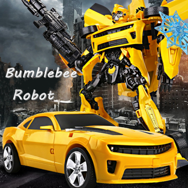 Electric Transformers BUMBLEBEE Robot Shape Shifting Robot
