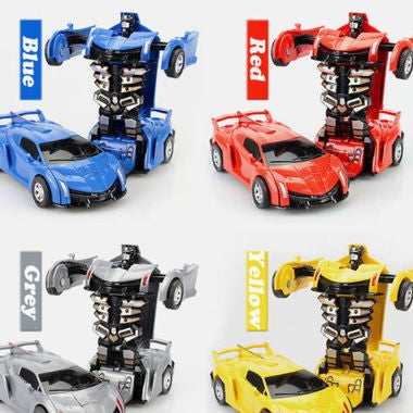 Alloy deformation toy King Kong 5 car robot model Inertial impact transformation
