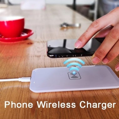New Qi Wireless Charger Mobile Phones Wireless Charging Power Pad for Micro USB