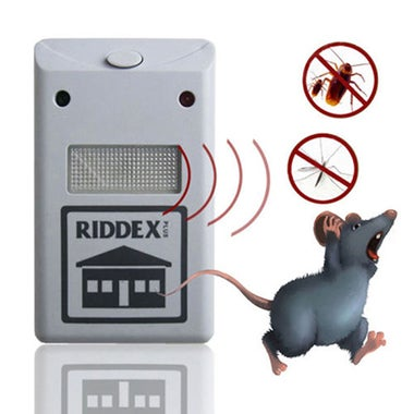 Magnetic Ultrasonic Riddex Electronic Pest Control Rodent Repeller For Mouse Ins