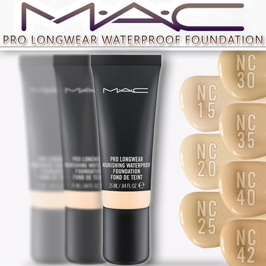 MAC Cosmetics | Pro Longwear Foundation | 25ml | Select Your Shade: NC15, NC25,