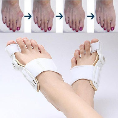 Big Toe Bunion Device Splint Straightener Hallux Valgus Pro Braces