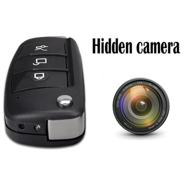 HD 1080P CCD S820 Spy car key camera with IR night vision Motion Detection Mini