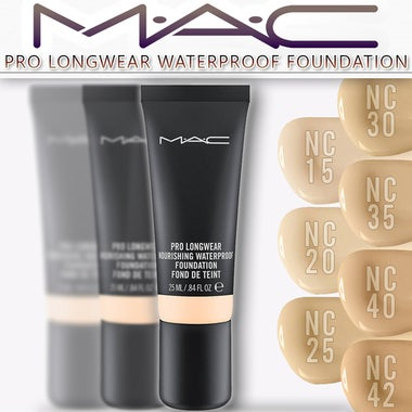 MAC Cosmetics Pro Longwear Waterproof Foundation (Select Your Shade: NC15, NC20,