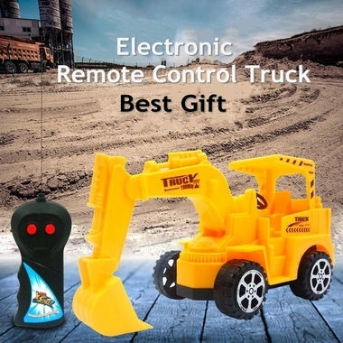 Electronic Remote Control Toy Truck For Children