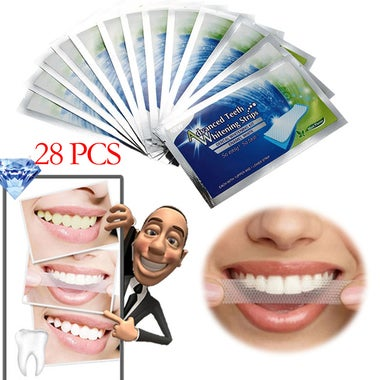 Crest 3D White LUXE Whitestrips Professional Whitening Effects 28 strips