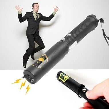 Electric Shock Batons Stick Flashlight Joke Prank Trick Toy Gift April-Fool Day