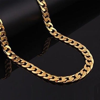 14k Gold Filled Thin Cuban Chain