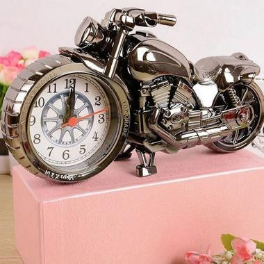 Personality Motorcycle alarm Colock Retro Classic Craft Lazy alarm