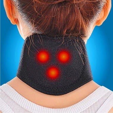 1Pcs Magnetic Therapy Neck Massager Cervical Vertebra Protection Spontaneous Hea