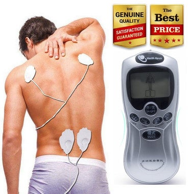 2 pad Electrode Health Care Tens Acupuncture digital therapy machine