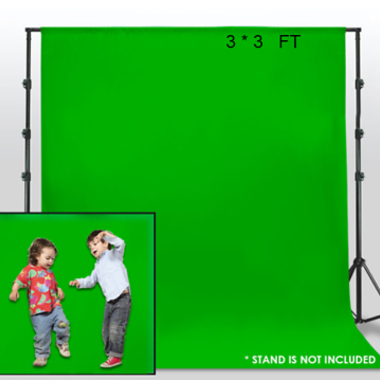 Wrinkle Free Chromakey Green Screen Backdrop Photography Background