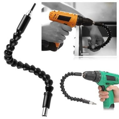 295mm Electronics Drill Black Flexible Shaft Bits Extention Screwdriver Bit Hold