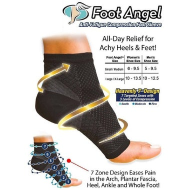 Ankle-Foot-Elastic-Compression-Wrap-Sleeve-Bandage-Brace-Support-Guard-Protector