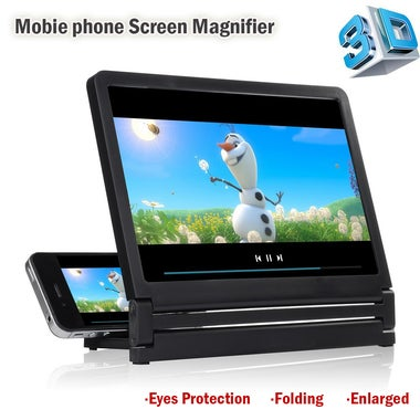 Display 3D Video Mobile Phone Screen Magnifier Stand Case Bracket