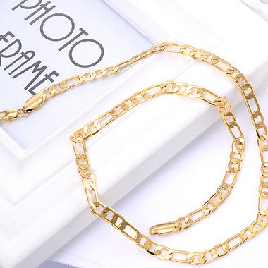 18K gold plated women's clavicle chain NK chain