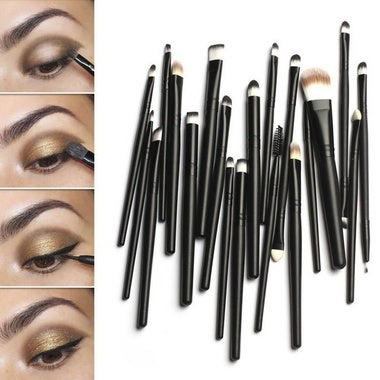 Lackingone  20pcs women's Makeup Powder Foundation Eye shadow Eyeliner Lip Cosme