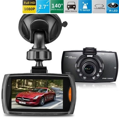 CN Car Driving Video Recorder G30 DVR 1080P Full HD G-sensor Night Vision
