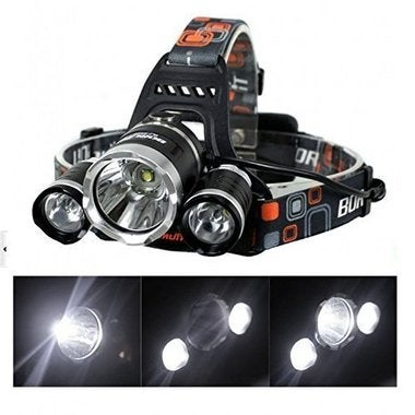 15000LM Handy Motile Waterproof 3*CREE XML T6 LED Headlamp Headlight Head Lamp l
