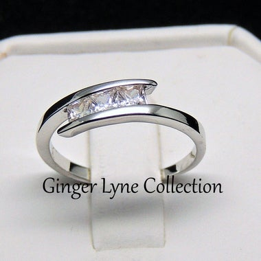 McKenna Anniversary Wedding Ring - Ginger Lyne Collection