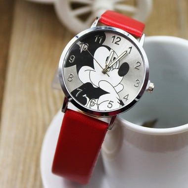 Shipping Free!!! Amazing gift for your family and friends! Mouse cartoon watch w