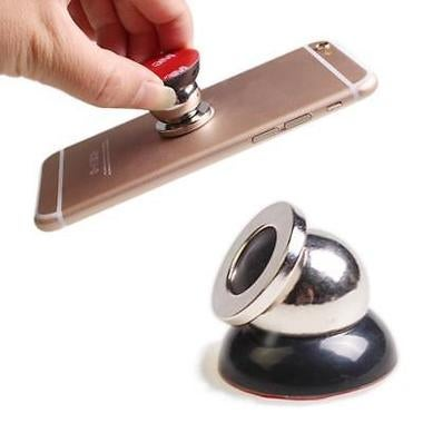 360 Rotation Phone Holder  in Car Magnetic Mobile Car Dash Holder Stand Mount