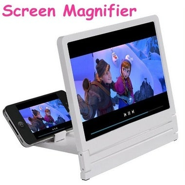 New Arrive Mobile Phone HD Screen Magnifier Cellphone Film Magnifier 3X magnifie