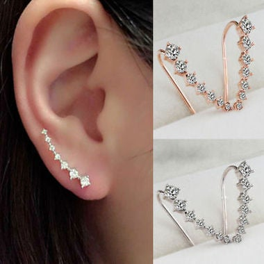 2018 Hot Fashion Crystal Rhinestone Earrings