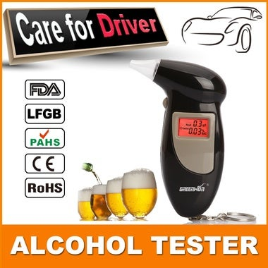 Alcohol Tester Digital Breath Alkohol Tester LCD Display Alcohol Breath Tester B