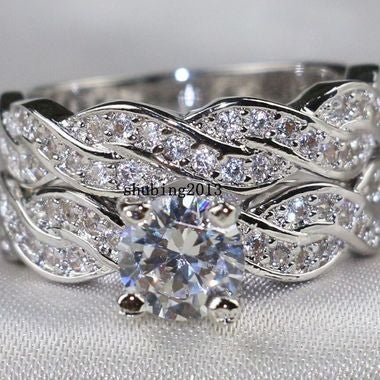 jewelry White Engagement Ring