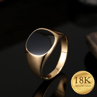 High quality classic Gold Filled ring for men and women in Europe and America