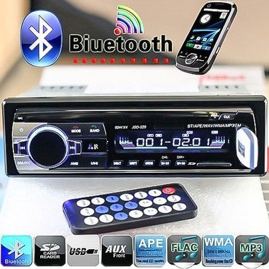 CN 2018 Brand New Bluetooth V2.0 Car Radio Stereo Audio MP3 Player 12V In-dash S