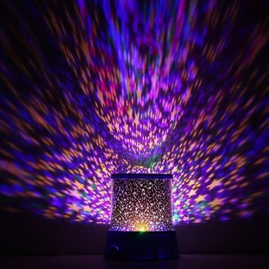 Starlight Sky Stars Romantic Night Light LED Sky Projection Lamp Miniatures Craf