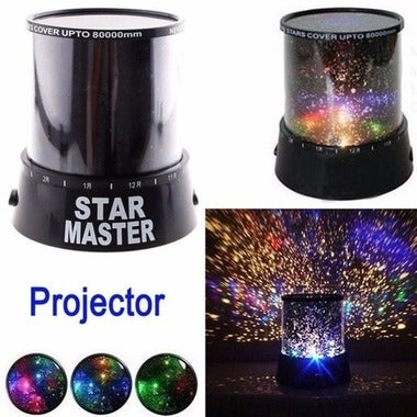 Amazing Flashing Colorful Sky Star Master LED Night Light