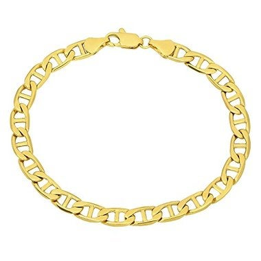 6mm 14k Gold Filled Mariner Link Chain