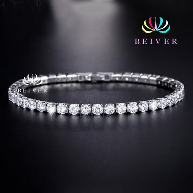 Super Shining Tennis Bracelet for Women