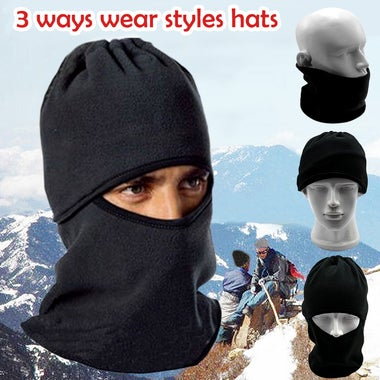 Winter Warm Scarf Neck Face Mask Sports Motorcycle Windproof Cycling Ski Hat