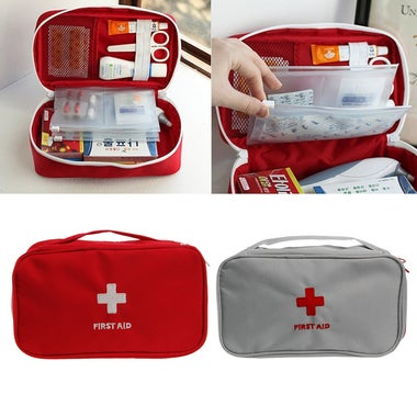 Aid Survival Medicine Storage Bag Pill Box For Travel Home Medical Tools