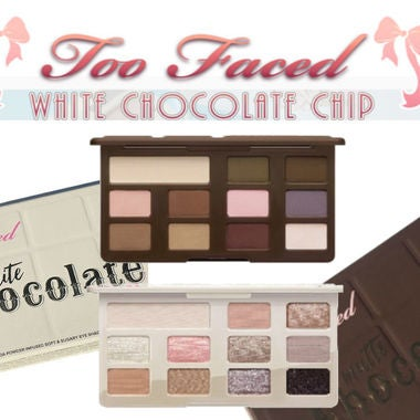 too faced chocolate chip palette (Matte Or White)