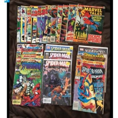 HUGE Lot of Vintage Comic Books!!! MINT!!!